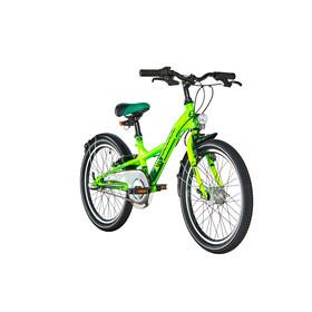 s'cool XXlite 20 3-S Rower dziecięcy  steel zielony